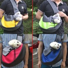 Pet Dog Cat Puppy Carrier Comfort Tote Shoulder Travel Bag Sling Backpack SS