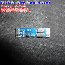 5A 3.2V Li Lithium Cell 18650 26650 LiFePO4 Battery BMS PCB Protection board