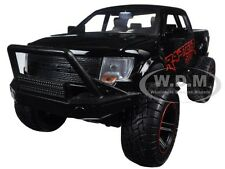 2011 FORD F-150 SVT RAPTOR PICKUP TRUCK BLACK/RED OFF ROAD 1/24 JADA 97480