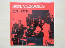 SOUL VENDORS On Tour UK 1st press vinyl LP Rarest Coxone CSL 8010 1967 Ex