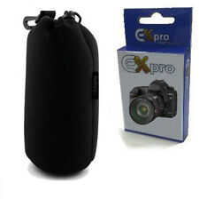 Ex-Pro® Neoprene DSLR Camera Lens Soft Protector Carry Case Bag Pouch - Large
