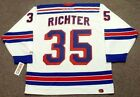 MIKE RICHTER New York Rangers 2003 CCM Throwback Away NHL Hockey Jersey