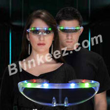 LED Rave STELLAR LightUp Flashing Blinking Glow Party LED Sunglasses -Super Fun!