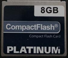 8GB CF Card Compact Flash Karte Platinum Speicherkarte – TOP