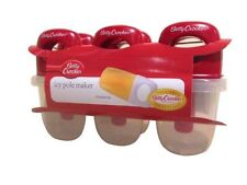 Betty Crocker - Icy Pole / Ice Block Maker - 6 Moulds