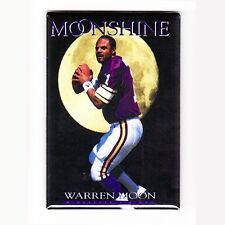 WARREN MOON / MOONSHINE - COSTACOS BROTHERS POSTER MAGNET (nike vikings oilers)