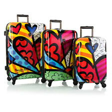 HEYS ROMERO BRITTO COLLECTION A NEW DAY 3PC SET SPINNERS LUGGAGE * NEW *