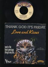 Love and Kisses - Thank God It's Friday - You're the...7 Inch Vinyl - FRANCE