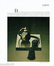 PUBLICITE ADVERTISING 026  1978  Lancome vaporisateur parfum Arpège 2