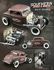 1:18 GMP 1932 FORD 3 WINDOW ARDUN RAT ROD FLATHEAD RARITÄT!