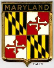 CAL078 - PLAQUE DE CALANDRE AUTO - MARYLAND