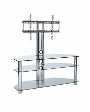 Cantilever TV Stand with Swivel Bracket 30 inch - 65 inch LCD LED tv height adj