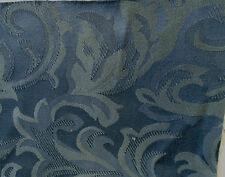 5m Of Quality Sanderson Cotton Jacquard Curtain & Upholstery Fabric  Navy Blue