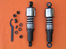 "10.5""Stubby Shocks for Harley Sportster XL Forty Eight Iron 883 Lowering Chrome"
