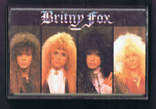 """Britny Fox"" by Britny Fox, Self-Titled Debut (1988, Cassette, CBS Records)"
