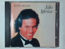JULIO IGLESIAS 1100 Bel Air Place cd JAPAN FOR EUROPE NO BARCODE 10 TRACKS