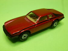 EDOCAR HOLLAND 28 JAGUAR XJS V12 - METALLIC RED 1:60? - GOOD CONDITION
