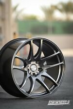 19x8.5 19x9.5 Inch +30/22 ESR Sr08 5x120 Hyp Black Wheels Rims BMW E60 E92 M3 M5