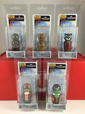 Pin Mates #21-25 Set of 5 Guardians of the Galaxy Wooden Figures NEW Marvel