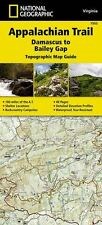 National Geographic Appalachian Trail Map Guide VA Damascus to Bailey Gap 1503