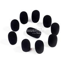 10pcs Pack Handheld Stage Microphone Headset Windscreen Foam Mic Cover 40x12 mm