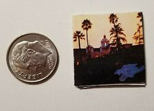 "Dollhouse Miniature Record Album 1"" 1/12 scale Barbie Eagles Hotel California"