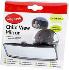 Clippasafe CHILD/BABY/KIDS VIEW MIRROR Car Safety Accessory BN