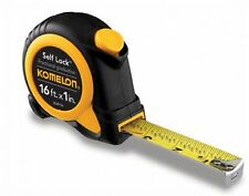 Komelon SL29116 16ft. x 1in. Self Lock Speed Mark Tape Measure