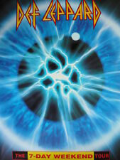 DEF LEPPARD - THE 7-DAY WEEKEND TOUR PROGRAMME