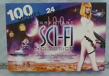 100 Greatest Sci-Fi Classics (DVD, 2012, 24-Disc Set)
