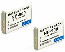 2x 3.7v Li-ion Battery Pack for VIVITAR Vivicam 3830 3830S 3945 3945S 45 5105S