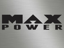 Max Power Car Magazine Vinyl Decals Window Stickers, Race, Retro Old Skool JDM