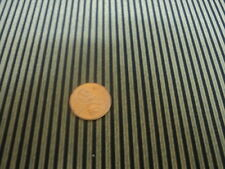 DOLLHOUSE WALLPAPER / REMINTON STRIPE/ BLACK/MNG3130
