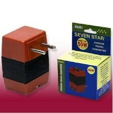 50 Watts Step Down Foreign Travel Voltage Converter Adapter 220 Volt to 110 Volt