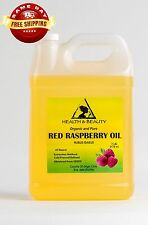 RED RASPBERRY SEED OIL REFINED by H&B Oils Center COLD PRESSED 100% PURE 7 LB