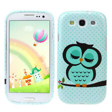 Wholesale Cute Owl Design Soft TPU Case Cover for Samsung Galaxy S3 III i9300