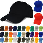 100% Cotton Solid Plain Washed Cotton Polo Style Baseball Ball Cap Hat 15 Colors
