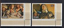 Niue 1979 EASTER Pieta and Burial of Christ MNH Set SC # 235-236
