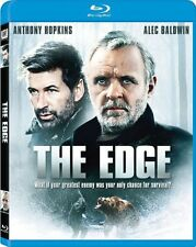 THE EDGE (1997 Anthony Hopkins) -  Region A - BLURAY - Sealed