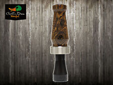 RNT RICH-N-TONE HUNTER SERIES BOCOTE WOOD POLYMER SPECKLEBELLY SPECK GOOSE CALL