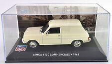 SIMCA 1100 COMMERCIALE 1968  1:43 ALTAYA IXO
