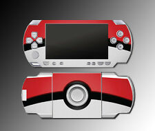 Pokeball Special Edition X and Y Video Game Skin Protector Cover Sony PSP 1000