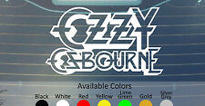 "OZZY OSBOURNE VINYL DECAL STICKER 7"" WIDE CUSTOM SIZE/COLOR BLACK SABBATH DIO"