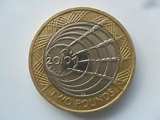 £2 BIMETALLIC UK COIN TWO POUNDS 2001 MARCONI RADIO 100 ANNIVERSARY WIRELESS