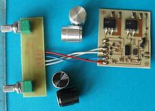 Dual LED Dimmer, Zweifarb-Dimmer, 2 x 12 A mit Potiplatine, 32KHz PWM, 512 Steps