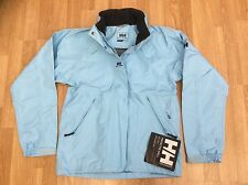 LADIES HELLY HANSEN TECH WINDPROOF OUTDOOR JACKET SKY BLUE SIZE S = 10