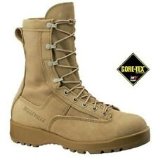 US Army BELLEVILLE 790ST Waterproof GORETEX Tan Combat Flight Boot  Stiefel 8W