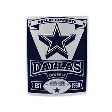 "New NFL Dallas Cowboys Team Fleece Throw Blanket 50""L X 60""W"