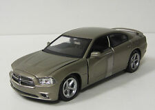 2011 Dodge Charger Diecast Model Car - NewRay Toys - 1:24 Scale - Dark Titanium