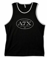 AVENGED SEVENFOLD - A7X OVAL BLACK TANK TOP SHIRT NEW ADULT X-LARGE XL